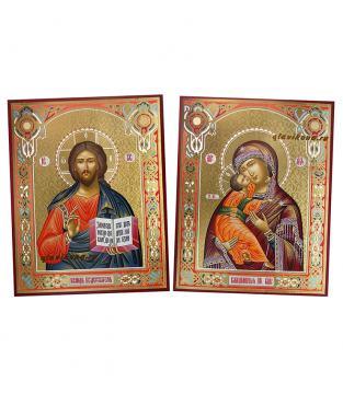 Пара икон с Владимирской, артикул 311