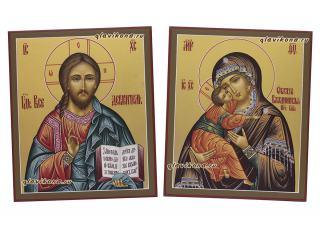 Венчальная пара с Владимирской, артикул 324, детальный вид