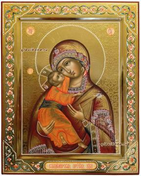 Образ Владимирской из венчальной пары артикул 328