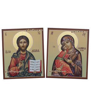 Пара для венчалья с Владимирской, артикул 335
