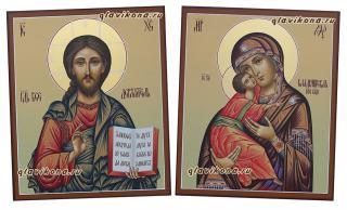 Пара для венчалья с Владимирской, артикул 335, детальный вид