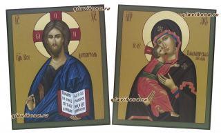 Венчальная пара византийский стиль, артикул 337, детальный вид