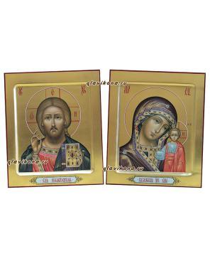 Венчальная пара на золоте, артикул 343