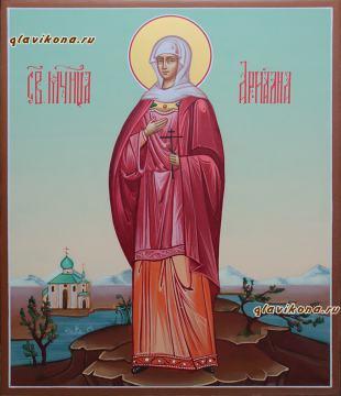 Мученица Ариадна, рукописная икона, артикул 585