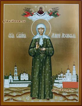 Ростовая икона Матроны Московской, артикул 6200