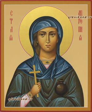 Святая Миропия, рукописная икона, артикул 561
