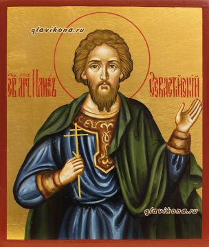 Илий Севастийский, рукописная икона артикул 6141