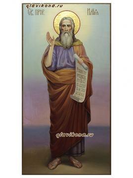Илия Пророк, ростовой, писанная маслом