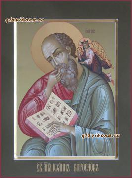 Иоанн Богослов, писаная икона артикул 6145