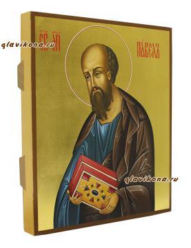 Апостол Павел, писаная икона артикул 6157, вид сбоку