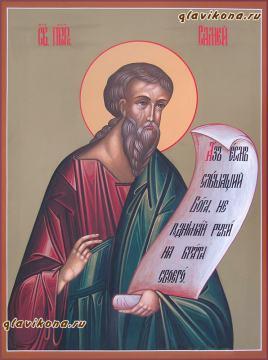 Святой Пророк Самей, писанная икоан артикул 6169