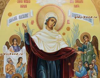 Всех скорбящих Радость, рукописная икона артикул 5294, вид лика