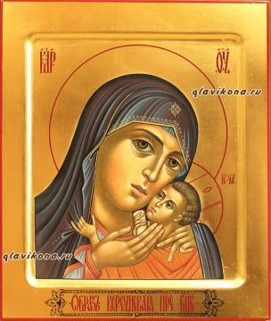 Богородица Корсунская, рукописная икона артикул 5307