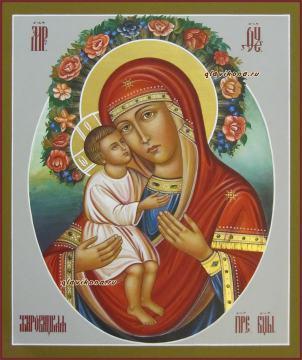 Жировицкая икона рукописная артикул 5325