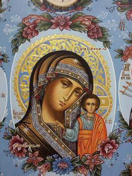 Собор Богородицы, лик Казанской
