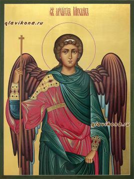 Архангел Михаил, писаная икона артикул 502