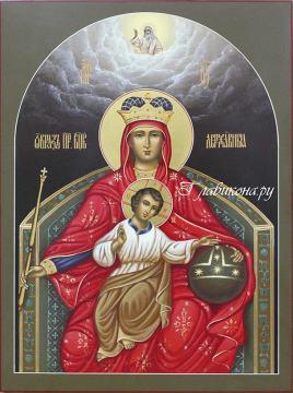 Писаная икона Державная, артикул 271