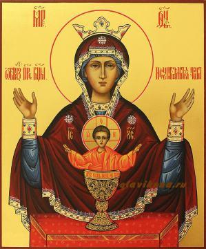 Неупиваемая Чаша, рукописная икона артикул 251