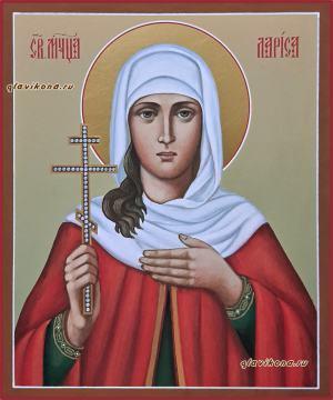 Лариса Готфская, рукописная икона артикул 6237