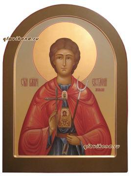 Евстафий Апсильски, писаная икона артикул 6248