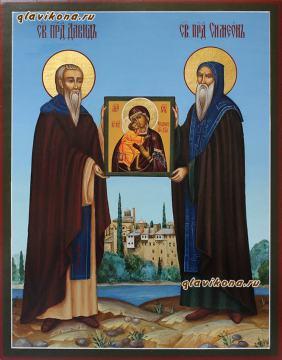 Преподобные Давид и Симеон Гареджийские