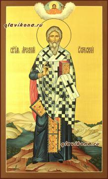 Арсений Сербский, мерная икона артикул 160