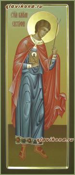 Евстафий Апсильский, мерная икона артикул 164
