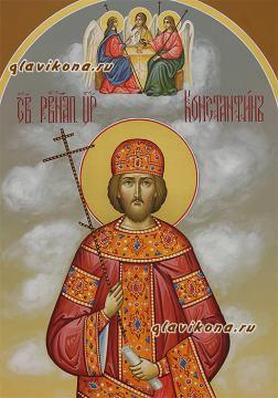 Детлаи лика мерной иконы Константина