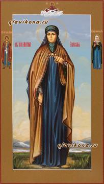 Ангелина Сербская, мерная икона на заказ артикул 173