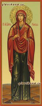 Дария Римская, мерная икона на заказ артикул 178