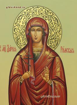 Детали лика мерной иконы Дарии. артикул 178