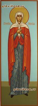 Елизавета праведная, мерная икона на крещение