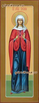 Мученица Татиана Рмская, мерная икона на крещение