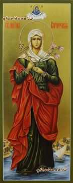 Святая Ника, мерная икона артикул 189
