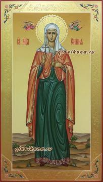 Емилия Кесарийская, мерная икона на заказ, артикул 190