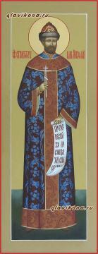 Николай II Романов, мерная икона на заказ, артикул 193