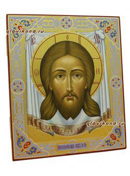 Спас Нерукотворный, артикул 603 - вид иконы сбоку