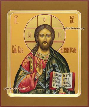 Писаная икона Спасителя с ковчегом, артикул 605