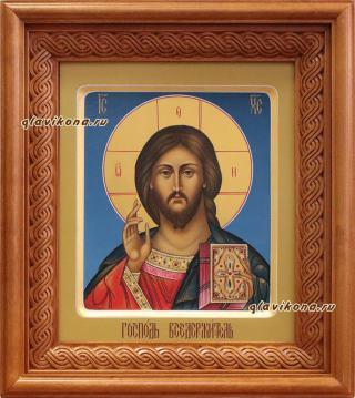 Икона Господа артикул 607 - вид сбоку