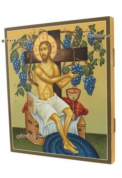 Христос Виноградная лоза, артикул 620 - вид сбоку