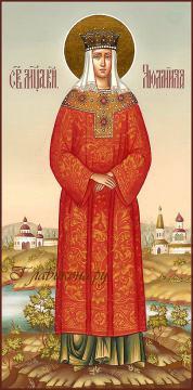 Мерная икона Людмилы Чешской, артикул 155