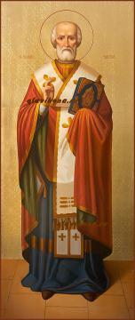 Мерная икона Николая Чудотворца, артикул 141