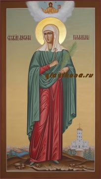 Мерная икона Анастасии Римляныни, артикул 135
