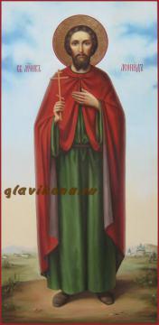 Мерная икона Леонида Коринфского, артикул 122