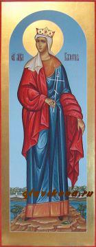 Мерная икона мученицы Валерии, артикул 127