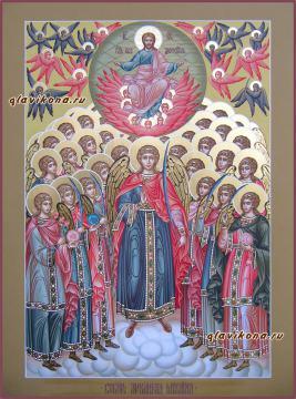 Писаная икона Собора Архангела Михаила, артикул 429