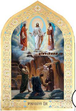 Преображение Господня, писанная икона маслом артикул 427