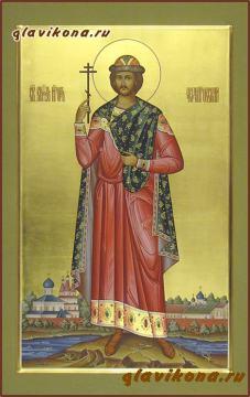 Мерная икона благоверного князя Игоря, атрикул 108
