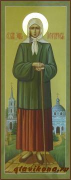 Мерная икона Ксении Петербургской, артикул 114