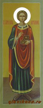 Мерная икона Пантелеймона, артикул 115
